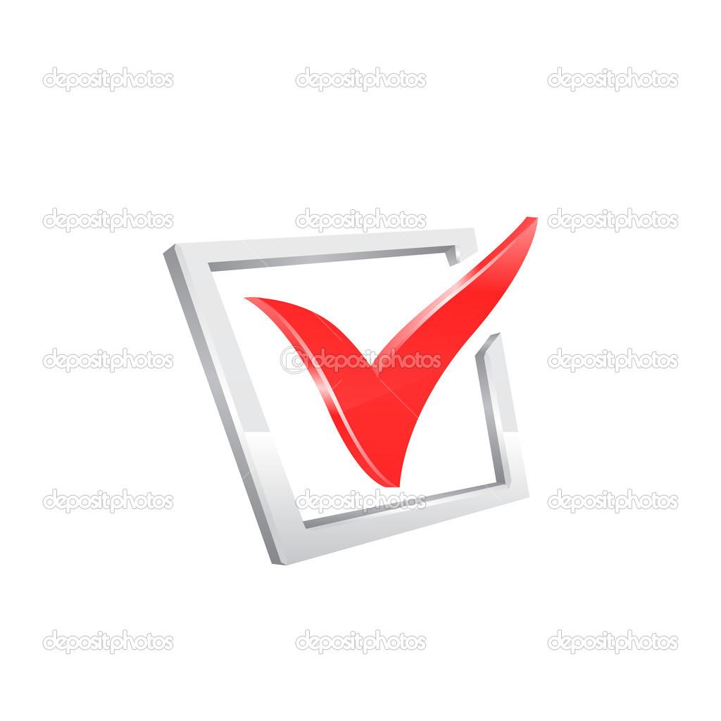 vector red checkmark stock vector pokomeda 26879835 rh depositphotos com vector icon check mark check mark vector icon