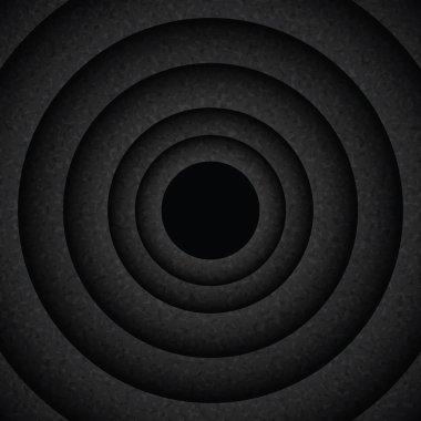 Background with dark circles