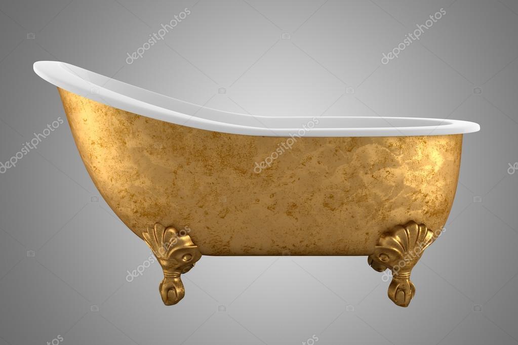 Vasche Da Bagno D Epoca : Vasca da bagno depoca isolato su sfondo grigio u2014 foto stock