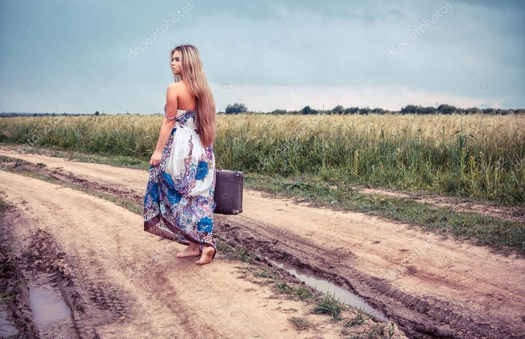 return of the rural girl to native places