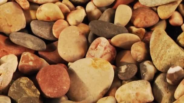 pláž kameny otáčení smyčka