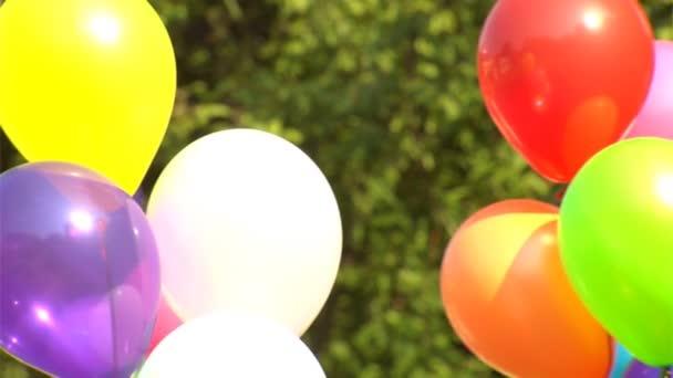 barevné bubliny