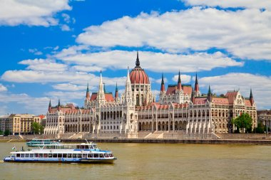 Building Of Hungarian Parliament