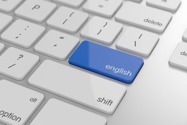 English translation button