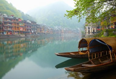 Old Chinese traditional town
