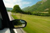 auto con motion blur