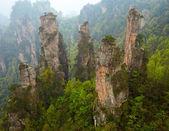 Zhangjiajie národní park, Čína. avatar hory