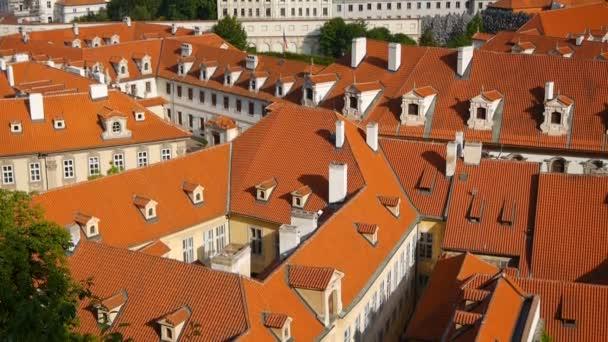 krásné panoráma Prahy. Česká republika