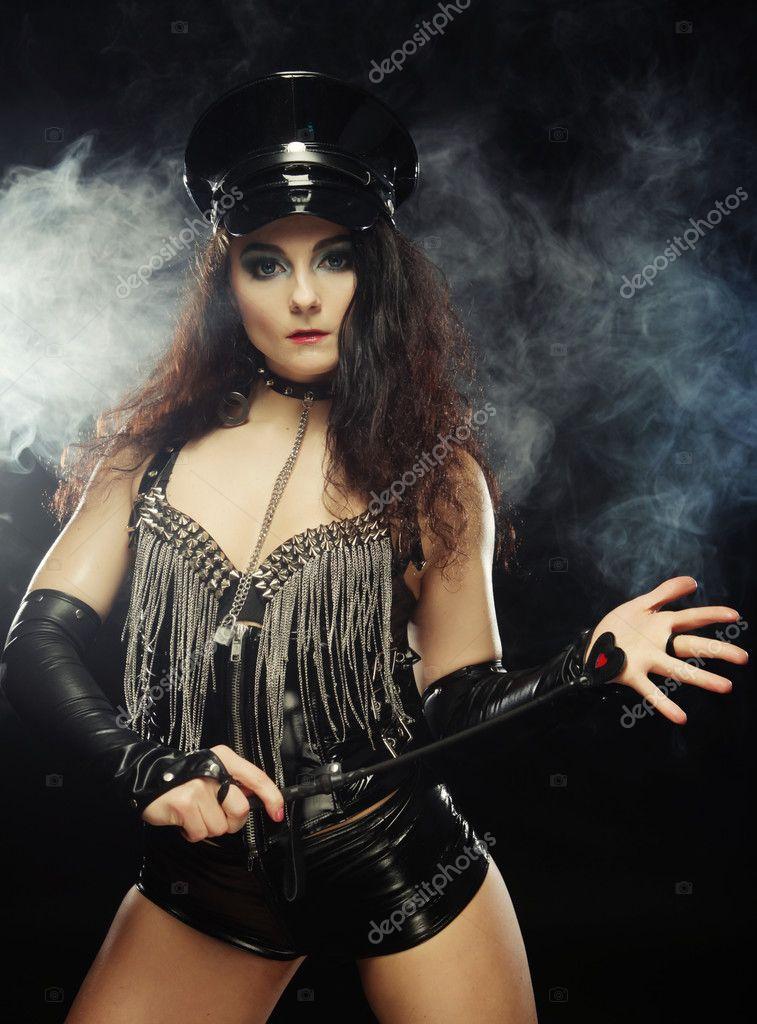 Sexy beautiful police woman