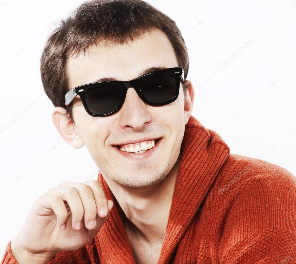 Junge Model mit Sonnenbrille — Stockfoto © juice_team #45032187