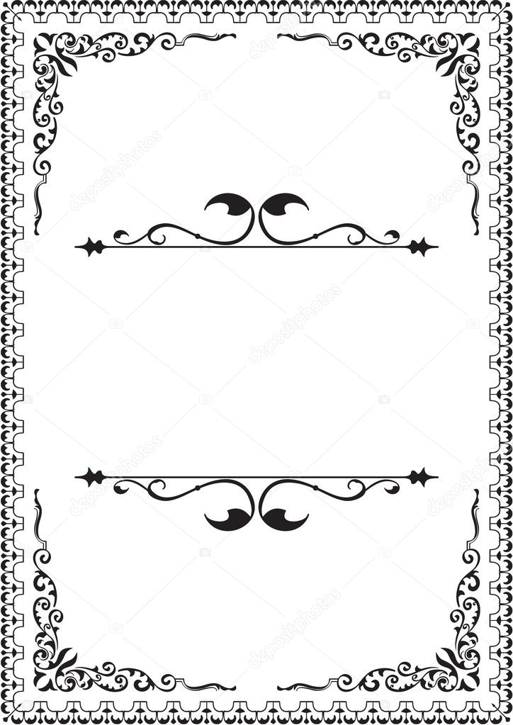 Nice design elements isolated on white  Vector by buravtsoff
