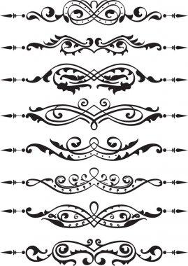 Divider lines set