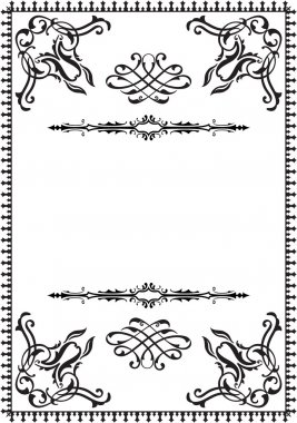 Frame rococco