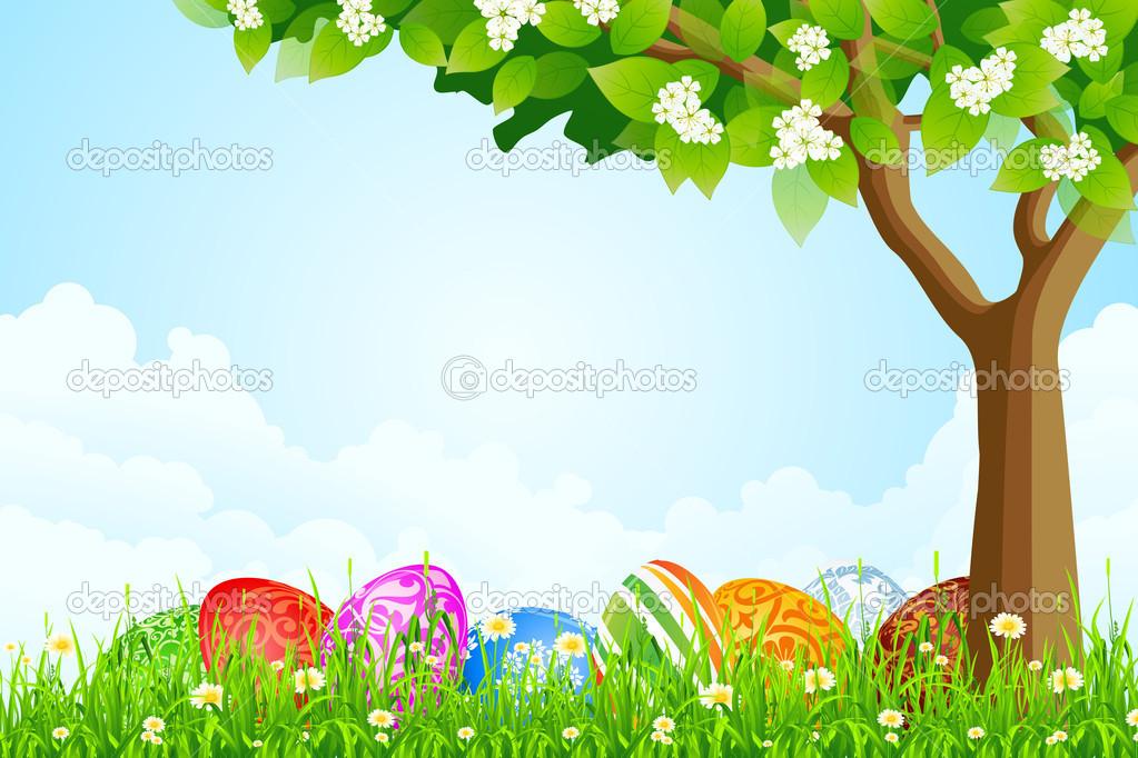 Deren Frühlingshügel fl