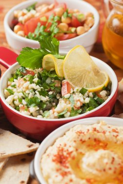 Tabbouleh, bulgur wheat salad