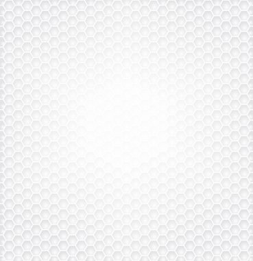 Hexagon White Background