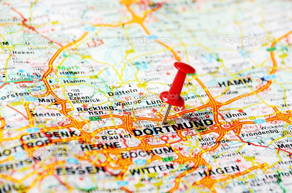 Dortmund Germany map Stock Photo ivosar 49406305