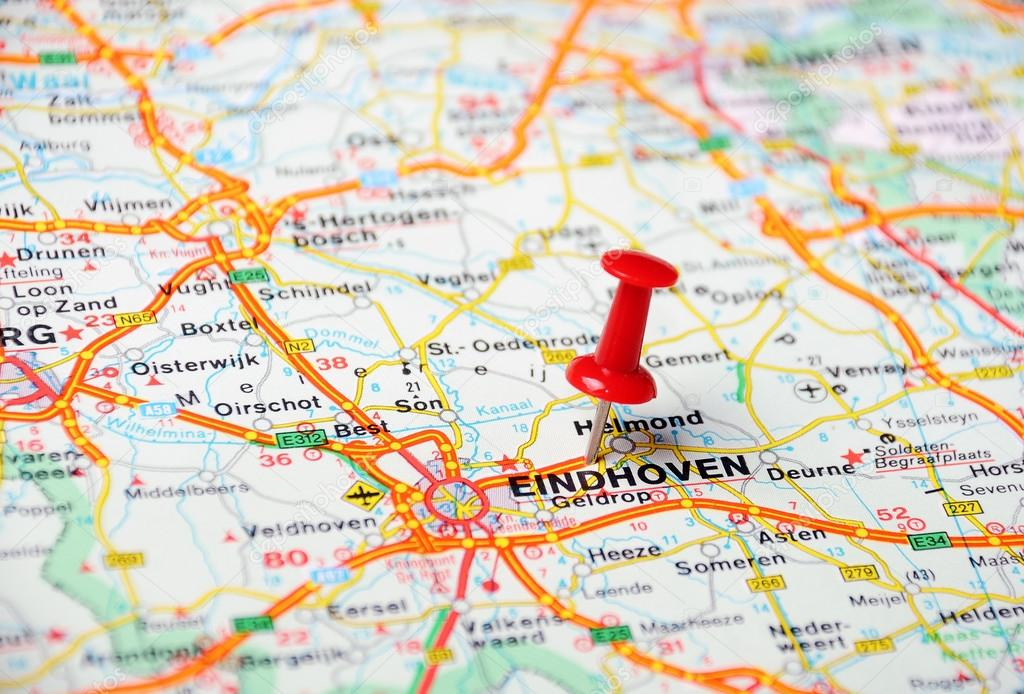 mapa holanda eindhoven Eindhoven, Holanda mapa — Foto de stock © ivosar #49504353 mapa holanda eindhoven
