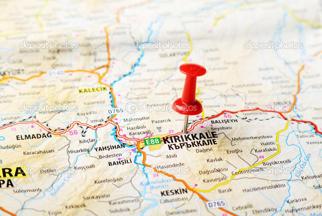 KirikkaleTurkey map Stock Photo ivosar 50070569