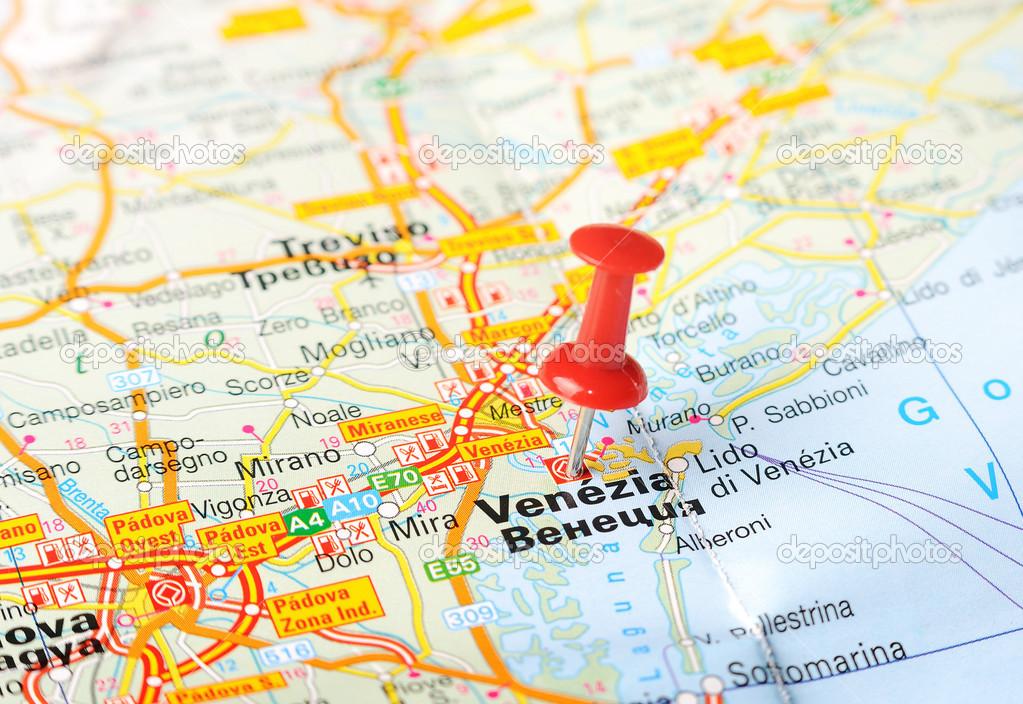 Venice Italy Map Stock Photo C Ivosar 50121799