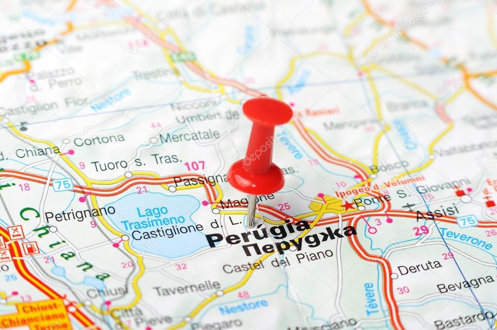 Carte Italie Perugia.Carte Italie Perugia Photographie Ivosar C 50324551