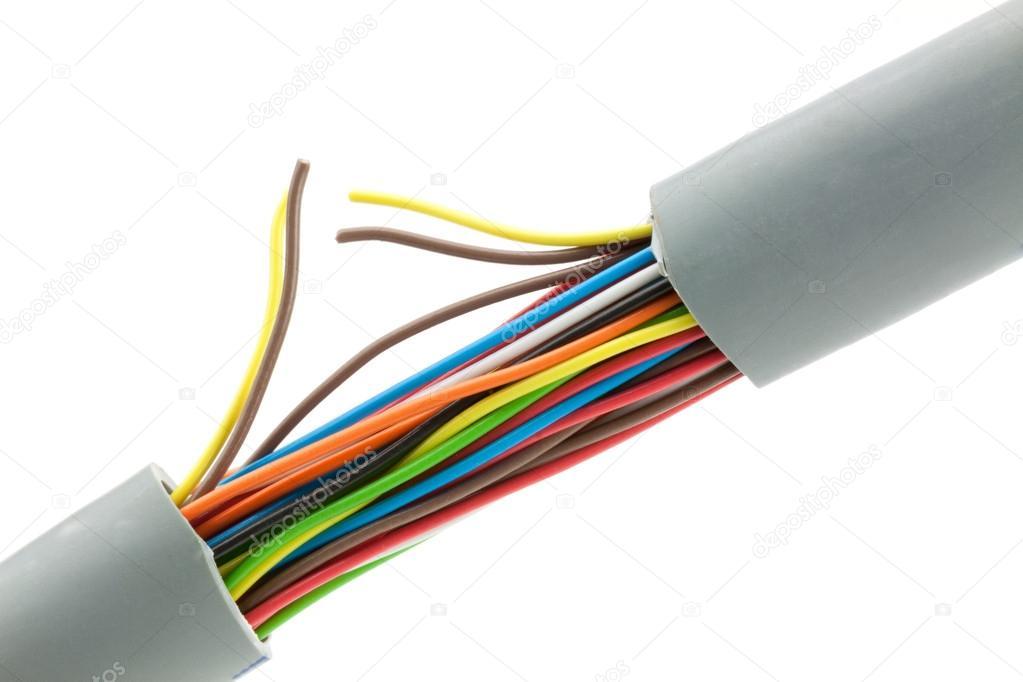 Bündel von Leitungen — Stockfoto © vtorous #21906395