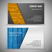 Fotografia Set di business card