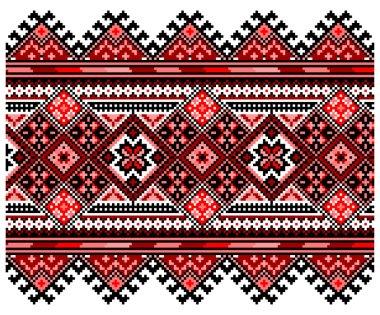 Ucrainian national ornament