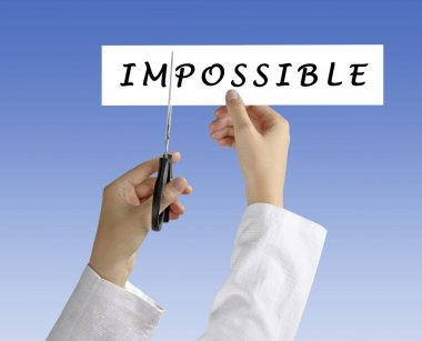 Methaphor of possible and impossible