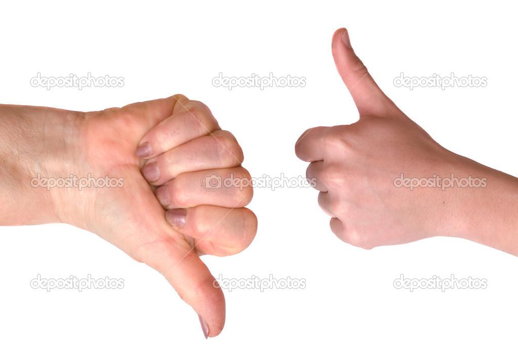 Sprang mano y pulgar