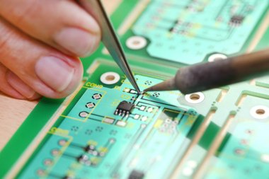 Hi-Tech electronic circuit board