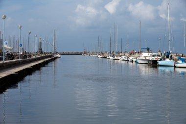 Viareggio - The Burlamacca canal.