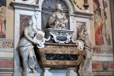Florence - Santa Croce. Tomb of Galileo Galilei