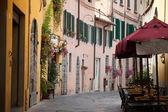 Fotografie morgen in der toskanischen stadt