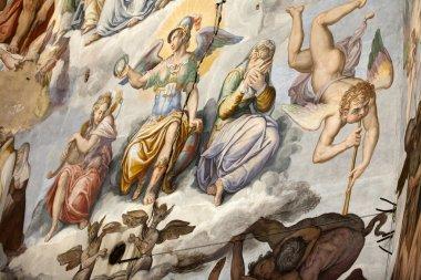 "Картина, постер, плакат, фотообои ""Флоренция - Дуомо наполнения последний judgemen"", артикул 25296719"