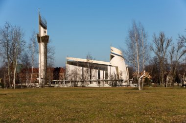 Cracow , Lagiewniki - The Divine Mercy Sanctuary