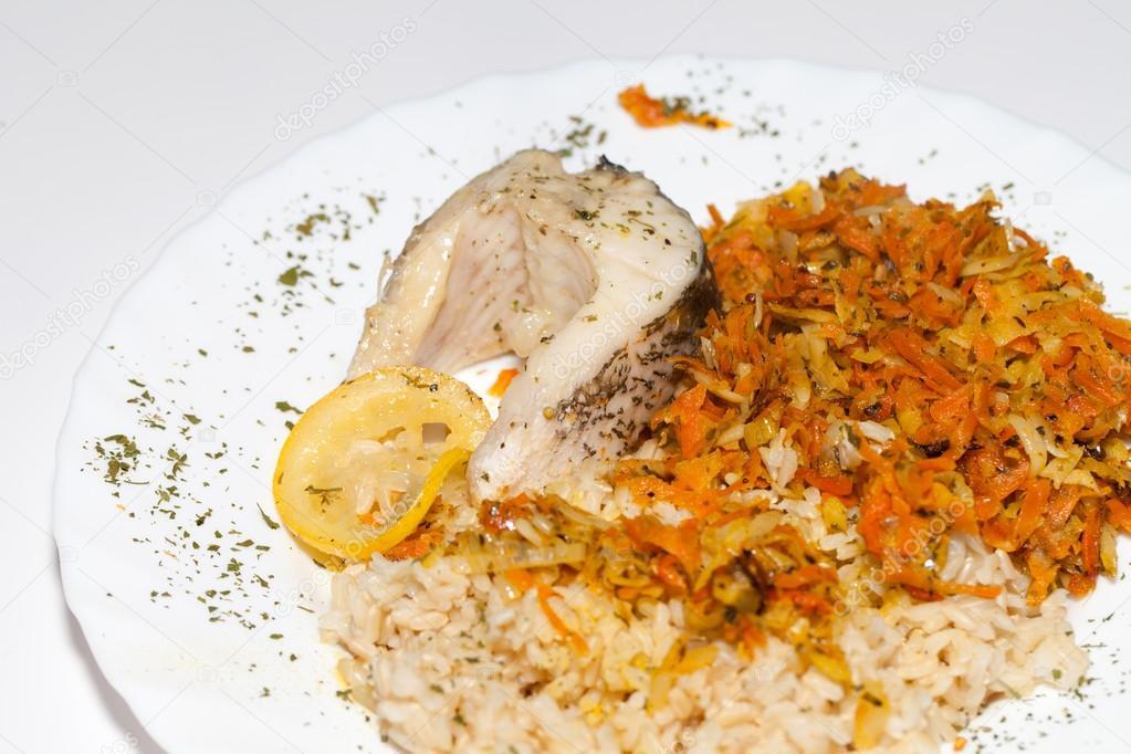 Dieta de vegetales con arroz