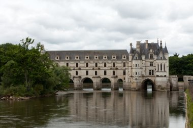 Garden and Castle of Chenonceau