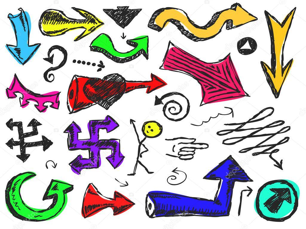 рисунки стрелки психология