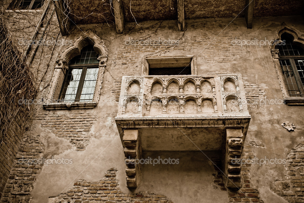Romeo and Juliet balcony — Stock Photo © csakisti #29904631
