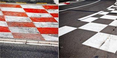 Car race asphalt theme