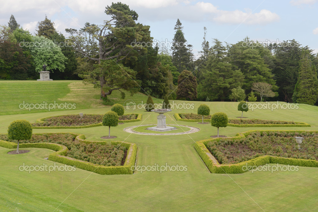 Powerscourt Gardens — Stock Photo © ungorf #34903937