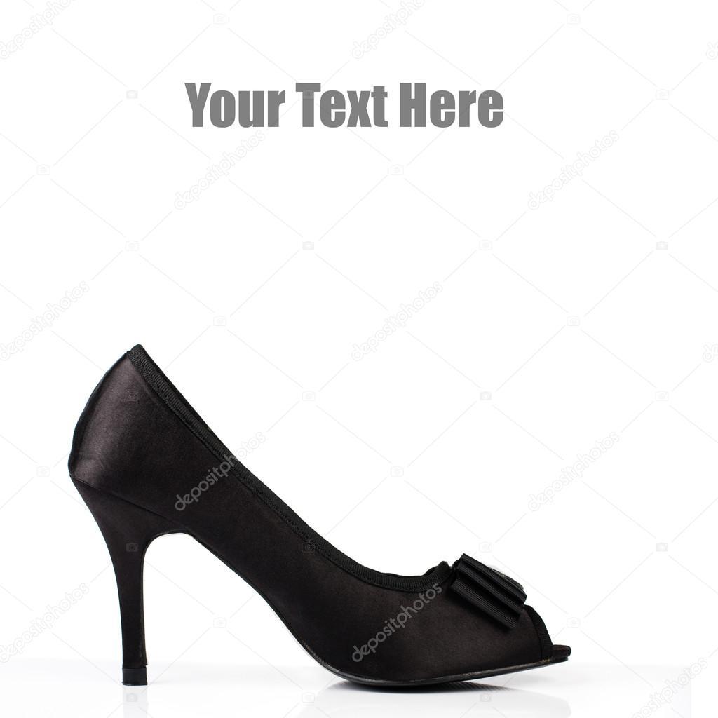4816f0671e31 Elegant expensive high heel women shoes. Fetish female weapon. Studio shot.  Isolated on white background. — Photo by Asiana