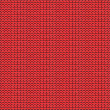 Red knitted background