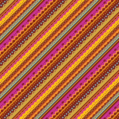 Stripes and laces background of autumn colors