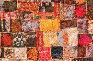 Indian patchwork carpet