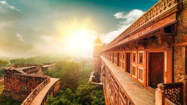Agra Fort. Agra, Uttar Pradesh, India, Asia.