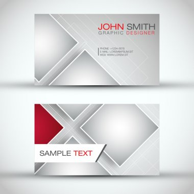 Modern Business - Card Set | EPS10 Vector Design
