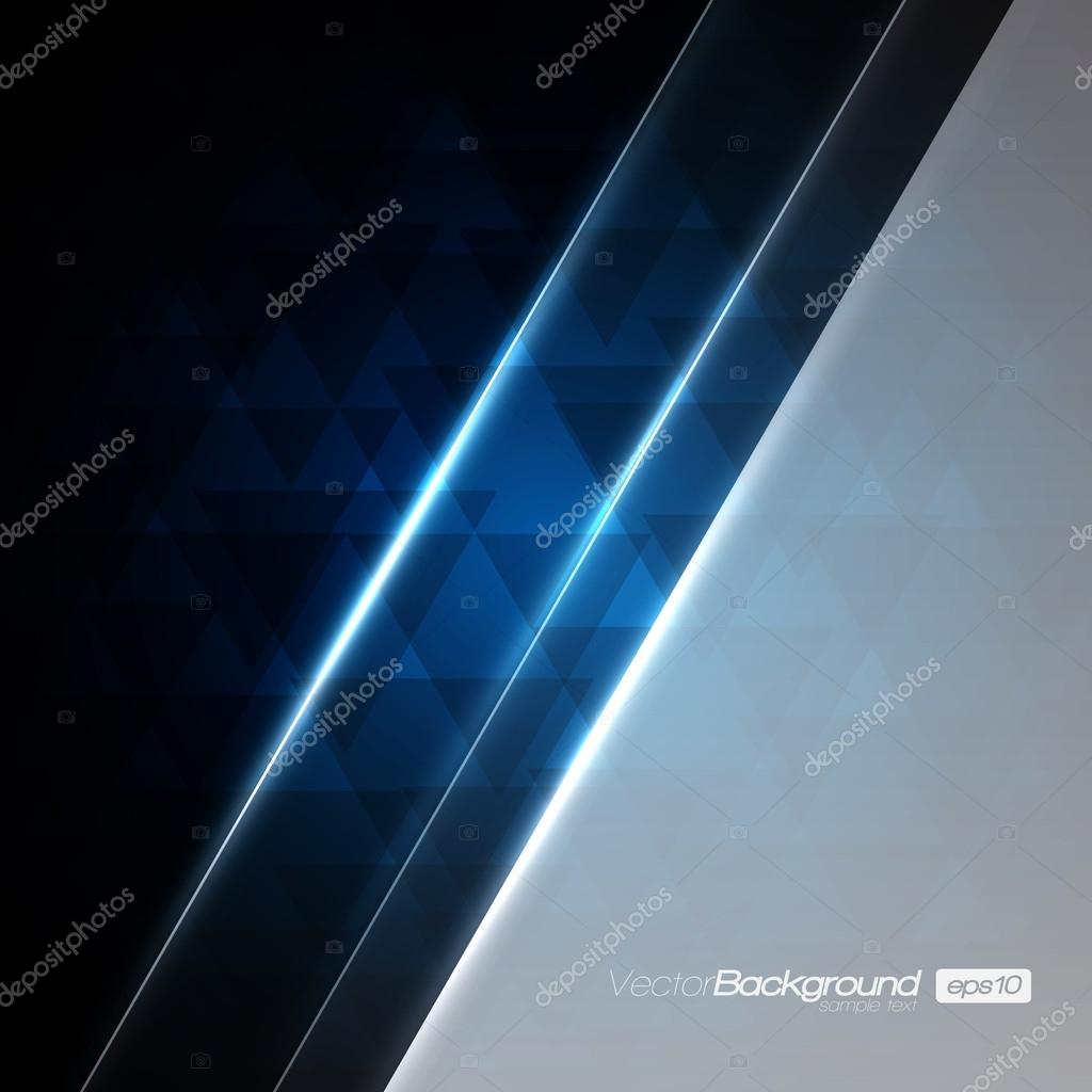 Blue Abstract Vector Background | EPS10 Design