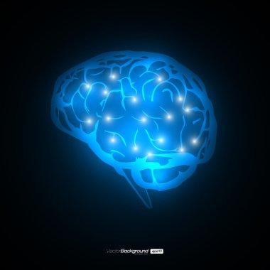 Brain Concept Vector Design EPS10 Illustration